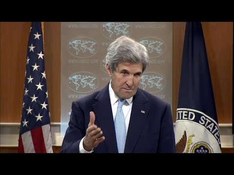 Secretary of State John Kerry's Remarks at Top of Daily Press Briefing