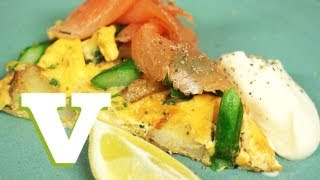 Smoked Salmon And Asparagus Frittata: Bring On The Brunch S01e5/8