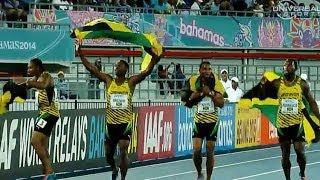 Jamaican Men break 4x200m World Record - Universal Sports