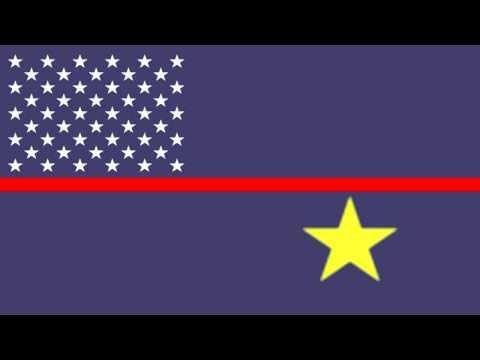 Bandera e Himno de Islas Jarvis (Estados Unidos) - Flag and Anthem of Jarvis Island (United States)