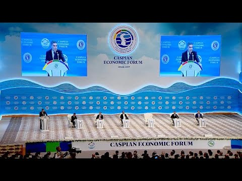 Euronews:Turkmenistan hosts the 1st Caspian Economic Forum focused on boosting industry, trade and tourism