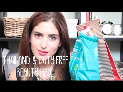 Thailand & Duty Free Beauty Haul | What I Heart Today
