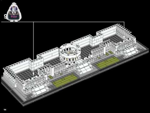 Lego 60143 2017 Lego Architecture United States Capitol Building instructions 21030