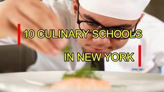 Top 10 Best Culinary Schools in New York