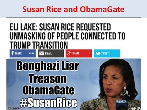 Susan Rice and ObamaGate