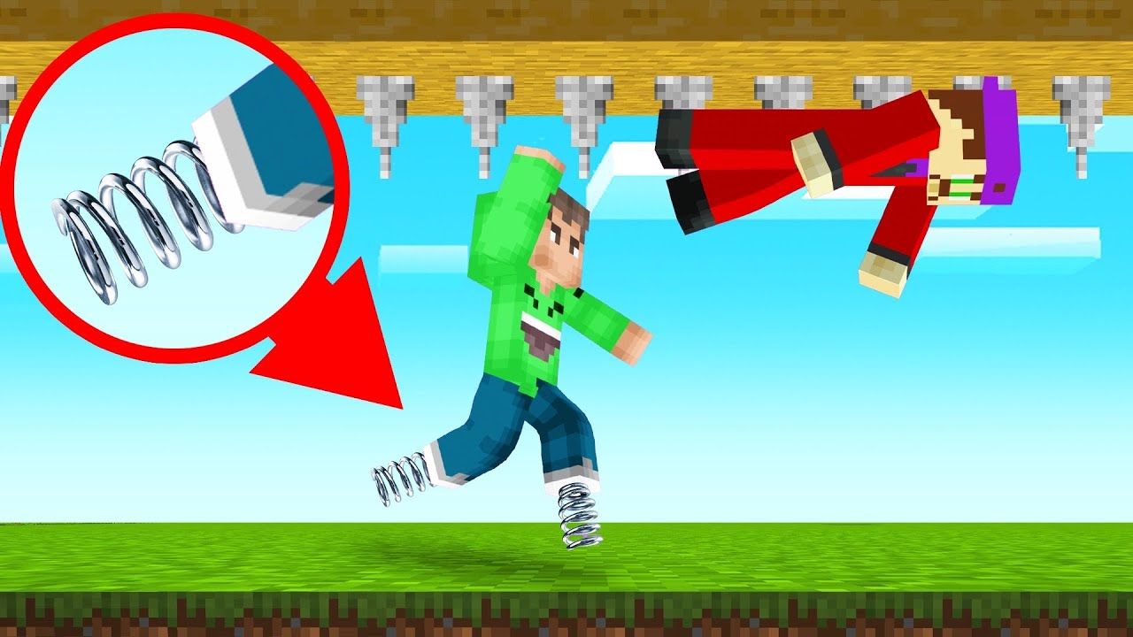 MINECRAFT But You Can ONLY JUMP! (We Died) thumbnail