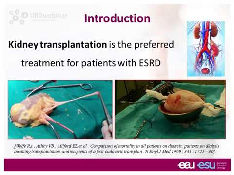 Urowebinar: Robotic kidney transplantation: step by step
