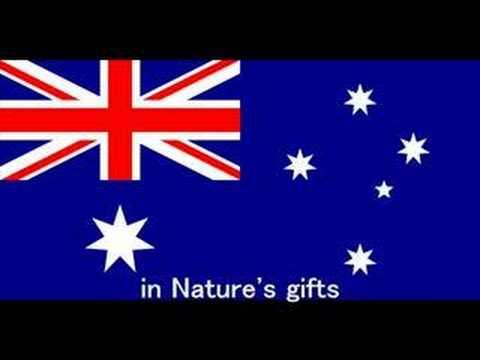 Advance Australia Fair -National Anthem of  Australia-