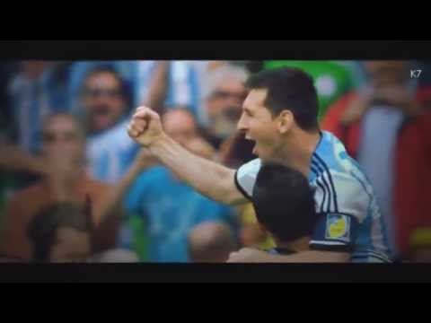 Promo World Cup 2014 final Argentina - Germany (  There Is Music ) يوجد موسيقى