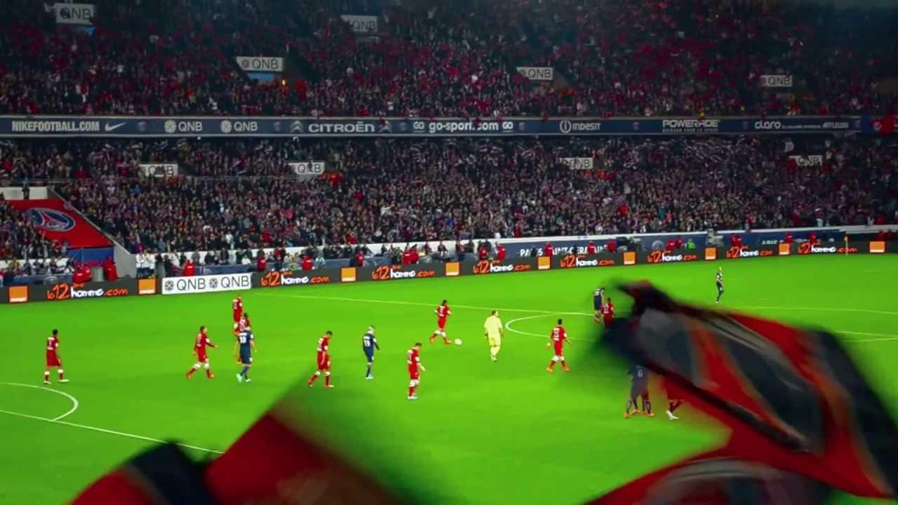 David Beckham S Final Assist Zlatan Ibrahimovic Free Kick Goal Psg Vs Brest 18 5 2013 Youtube