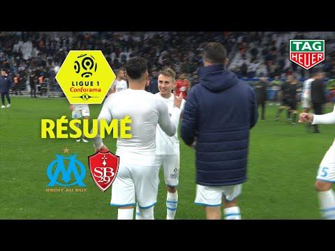 Olympique De Marseille - Stade Brestois 29 ( 2-1 ) - Résumé - (OM - BREST) / 2019-20