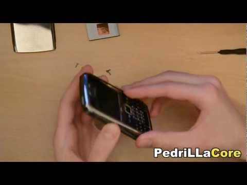 Nokia E71 Disassemble & keyboard replacement