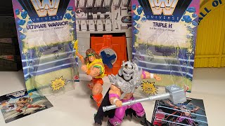 Masters Of The WW Ultimate Warrior & Triple H !!!