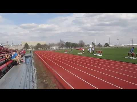 Omaha Christian Academy boys wins 4x400m  @ Conference Championships 4/26/13