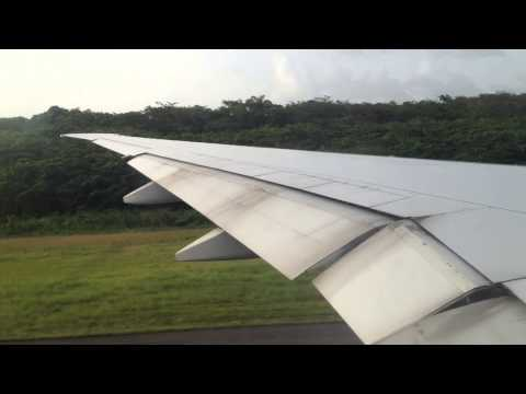 Boeing 777-300ER Take-Off From Guadeloupe TFFR [HD]