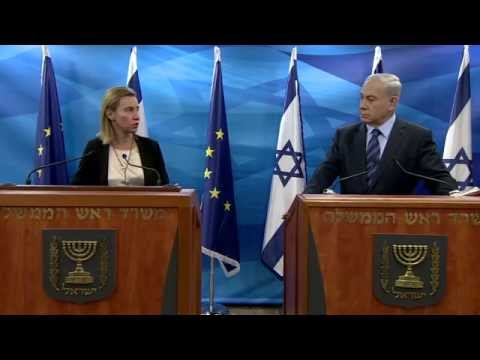 PM Netanyahu meets with High Representative of the EU for Foreign Affairs and Security Policy