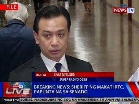 NTVL: Sheriff ng Makati RTC, papunta na sa Senado