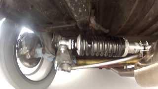 satchell engineering prototype peugeot 106 rear push rod suspension