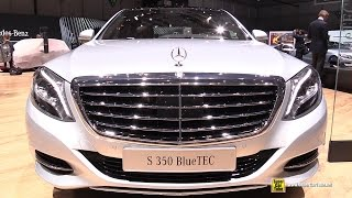 2015 Mercedes Benz S Class S 350 BlueTEC - Exterior and Interior Walkaround - 2015 Geneva Motor Show