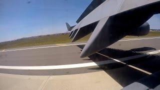 C-17 Globemaster III - Tactical Takeoff/Landing (Passenger View)