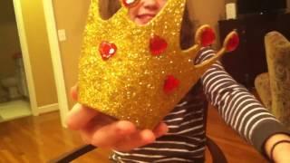 Queen Of Hearts Halloween Costume + Diy Crown | Izzy And Sydney