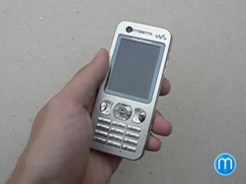 Sony Ericsson W890i - konstrukce a design
