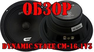 Обзор динамиков Dynamic State CM 16 1v3