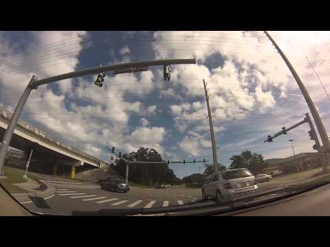 DASH CAM  BUTLER BLVD TO SOUTH BEACH PARKWAY  JACKSONVILLE B