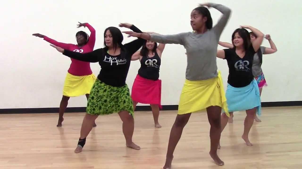 HOT HULA fitness Dance Workout - Week 1 - Part 1