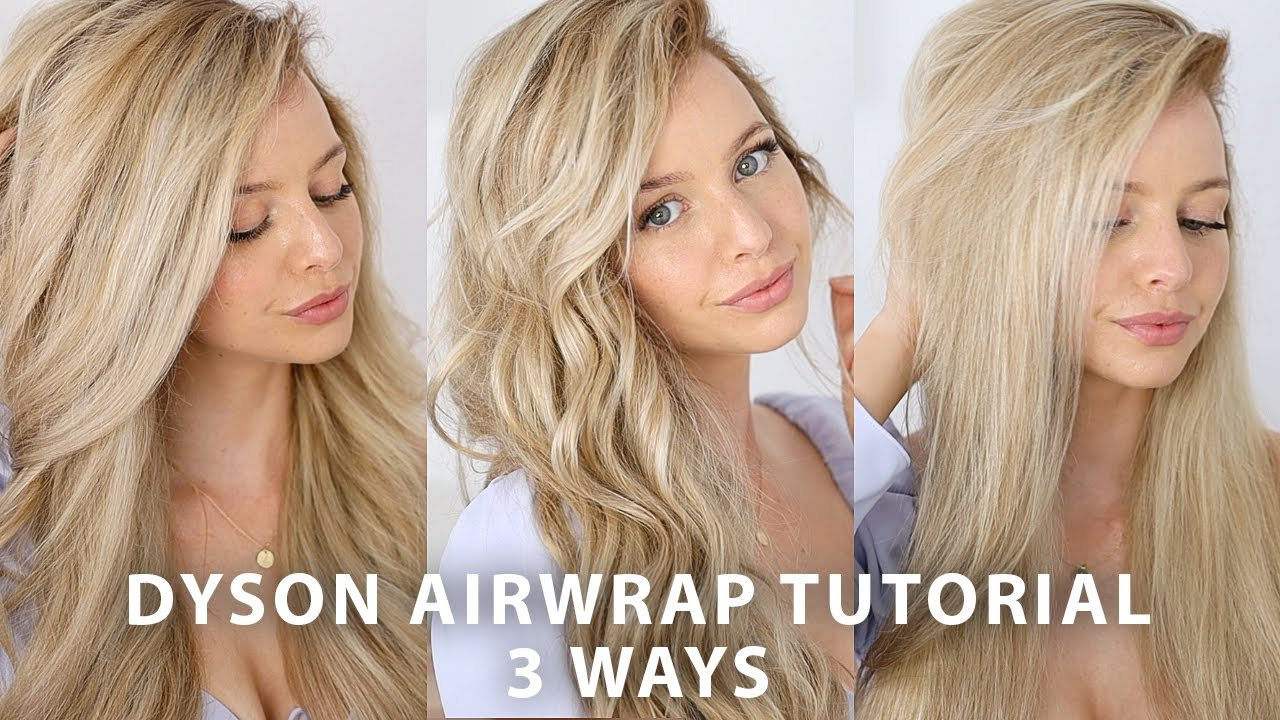 Dyson Airwrap Styler Tutorial 3 Ways Youtube