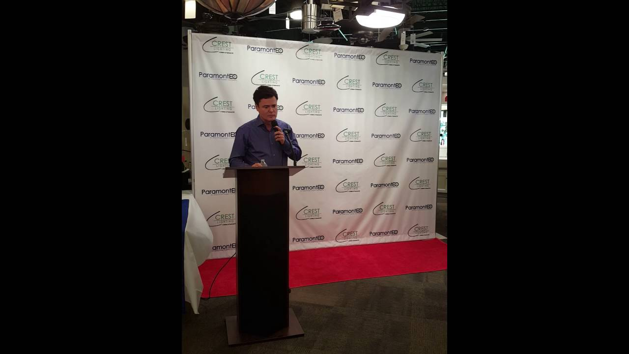 Donny Osmond Meet And Greet At Crest Lighting1 Youtube