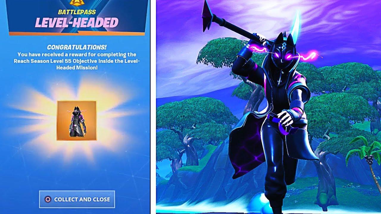 The New MAX CATALYST SKIN in Fortnite! (Level 55 Fully Upgraded Catalyst Skin Unlocked) #1