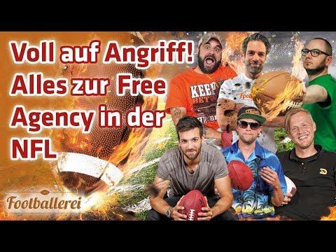 Voll auf Angriff! ALLES zur Free Agency in der NFL  | Footballerei SHOW