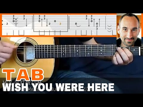 "Guitar guitar tabs wish you were here : Guitar Cover / Tab ""Wish You Were Here"" by MLR-Guitar - YouTube"