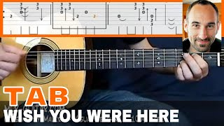 """Guitar Cover / Tab """"Wish You Were Here"""" by MLR-Guitar"""