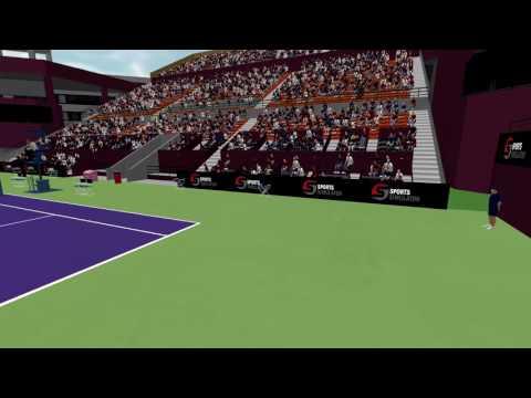 Tennis Simulator - Doha