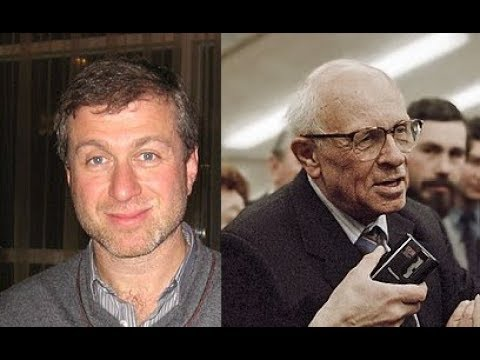 Clarey Test Andrei Sacharov and Roman Abramovich