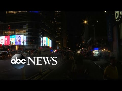 Mysterious blackout leaves New Yorkers in the dark