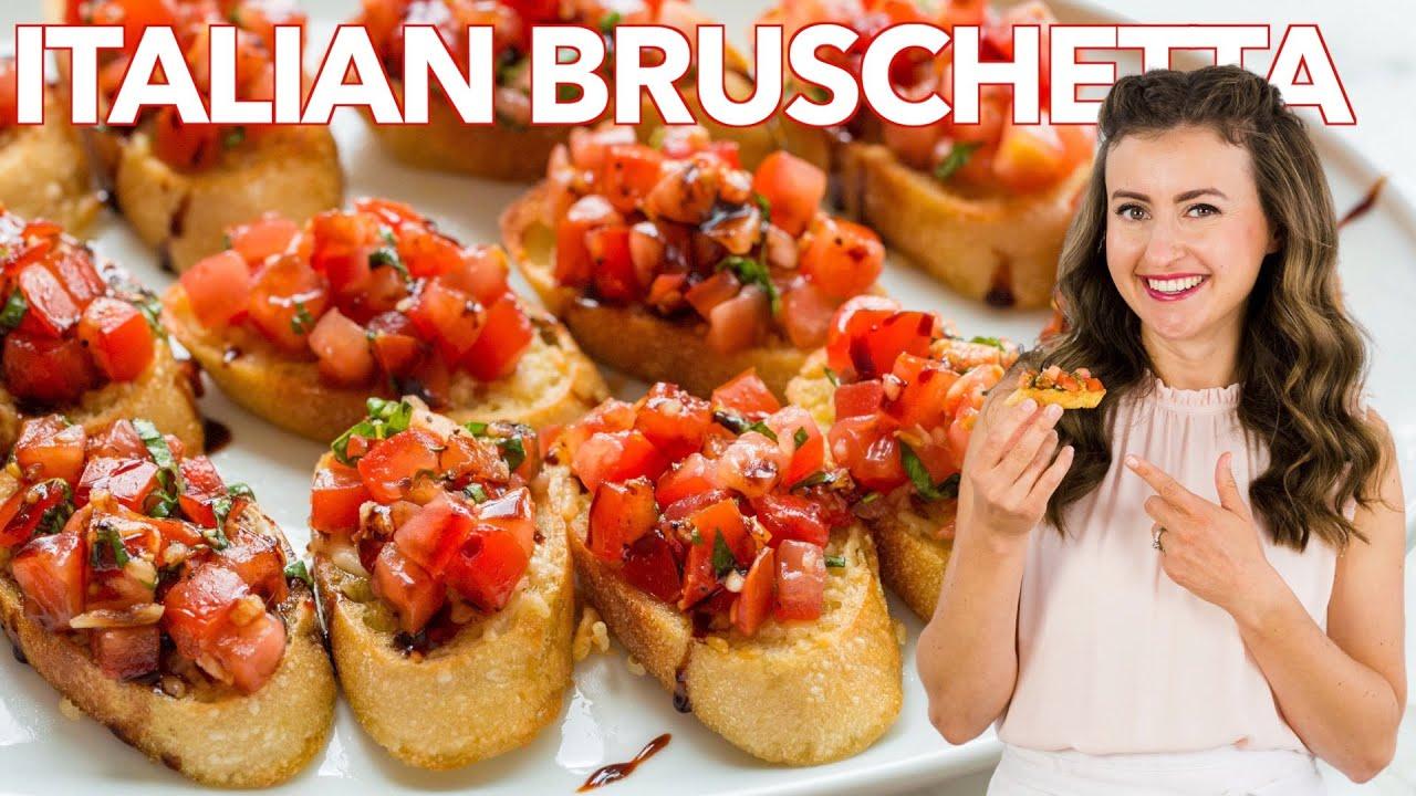 Download How to Make Italian BRUSCHETTA - Easy Appetizer