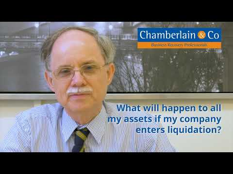 What will happen to all my assets if my company enters Liquidation?