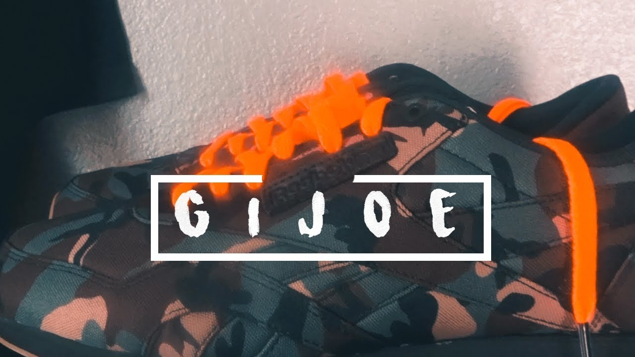 5625ddb8b2d1 The G.I. Joe x Reebok Classic Canvas ( Unboxing   Review) - YouTube