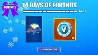 What Happens When You UNLOCK ALL 14 DAYS OF FORTNITE REWARDS? (Fortnite: Final Reward Unlocked)