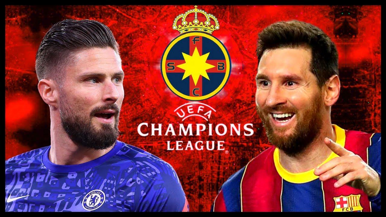 FCSB - Barcelona în UCL! Reușim SURPRIZA?