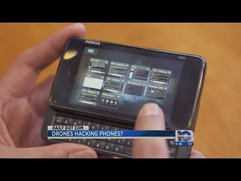 New Drones Hack Smartphones?