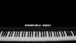 Nobody - piano instrumental (Wonder Girls)