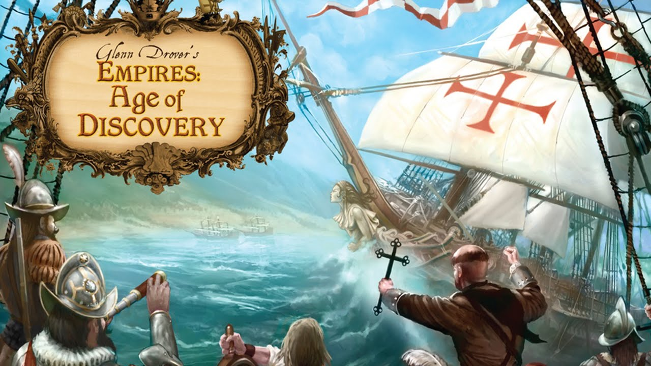 Age Of Exploration And Discovery: Empires: Age Of Discovery Board Game Overview