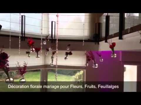 D coration florale mariage pour fleurs fruits feuillages for Decoration florale