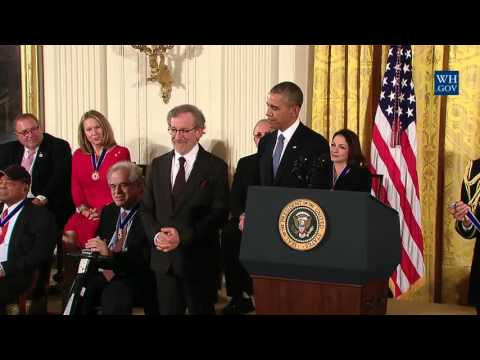 Steven Spielberg Awarded Presidential Medal Of Freedom