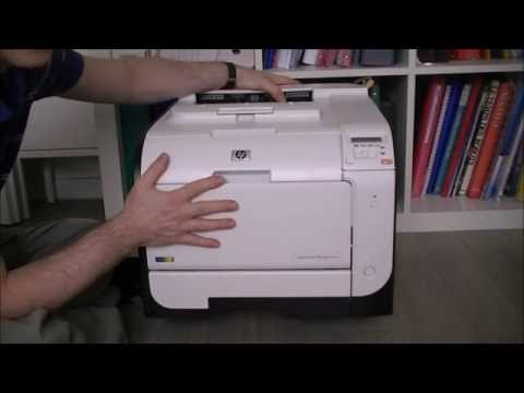HP laserjet pro 400 color printer teardown intro