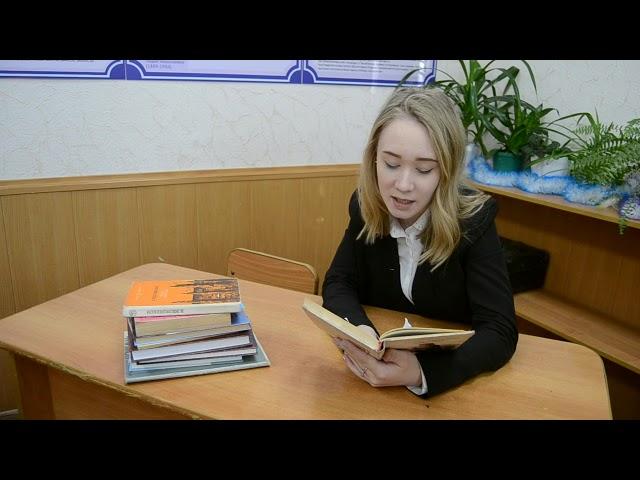 Изображение предпросмотра прочтения – ЯнаКраснова читает произведение «Я люблю, когда шумят березы» Н.М.Рубцова